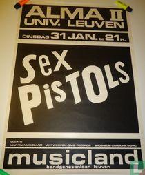 Affiche afgelast concert The Sex Pistols Leuven