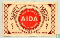 AIDA Impregnated safety matches