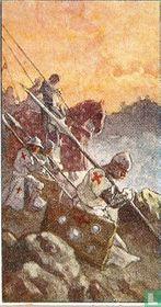 De Kruisvaarders zien Jeruzalem.