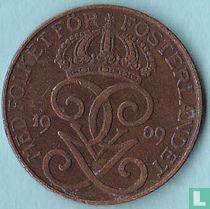 Zweden 2 öre 1909