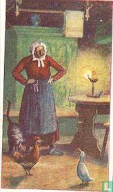 De Vrouw, de Kip en de Kater.