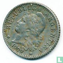 Argentinië 5 centavos 1909