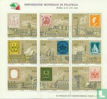 Postzegeltentoonstelling ITALIA '85 kopen
