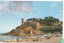 Tossa de Mar (Costa Brava) - Murallas y Playa