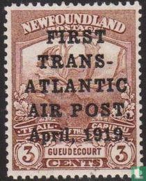 Eerste trans-atlantische vlucht
