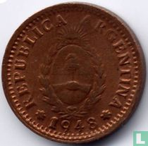 Argentina 1 centavo 1948