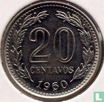 Argentinië 20 centavos 1960