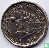 "Argentina 10 pesos 1966 ""Declaration of Independence"""