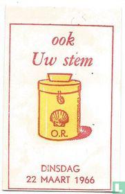 Shell - O.R. 22 maart 1966