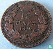 Servië 10 para 1879