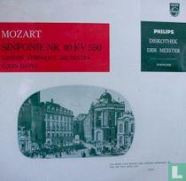 Mozart Sinfonie nr. 40 KV 550