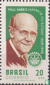 100e geboortedag van Paul Harris