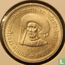 "Portugal 10 escudos 1960 ""Fifth centenary of the death of Prince Henry the Navigator"""