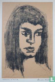 Flip Vanderburgt - Jonge Vrouw, ca. 1960