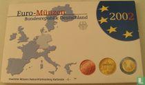 Duitsland jaarset 2002 (PROOF - G)