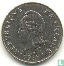 Frans-Polynesië 50 francs 1985