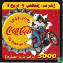 1947-1997 Coca-Cola 50 ans au Maroc