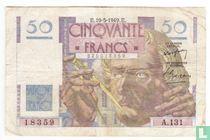 France 50 Francs 1949