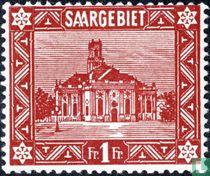 Eglise Saint-Louis à Sarrebruck