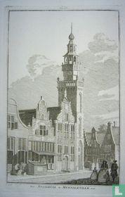Het Stadhuis te Monnikendam. 1726.