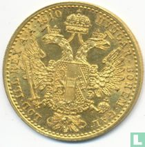 Austria 1 ducat 1910