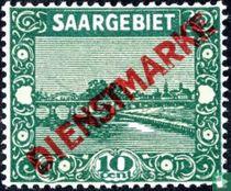 Pont à Sarrebruck, marquée