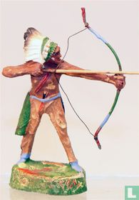 Indian with bow