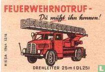 Feuerwehrnotruf -Drehleiter (dl25)