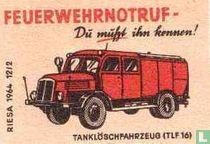 Feuerwehrnotruf - Tankloschfarhzeug (tlf16)