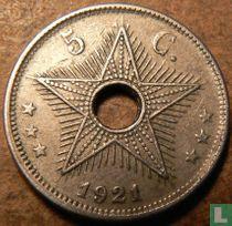 Belgian Congo 5 centimes 1921