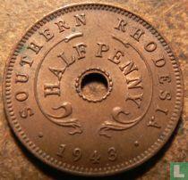 Zuid-Rhodesië ½ penny 1943