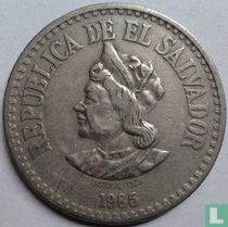 El Salvador 1 colón 1985