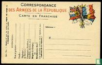Militaire postkaart