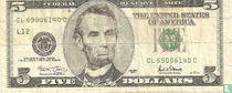 Verenigde Staten 5 dollars 2001 L