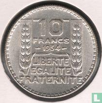 Frankrijk 10 francs 1934