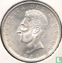 Ecuador 2 sucres 1944