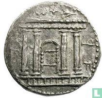 Judea sjekel Bar Kochba opstand 133-134 CE