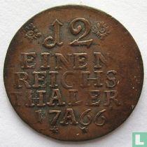 Pruisen 1/12 reichsthaler 1766 (A)