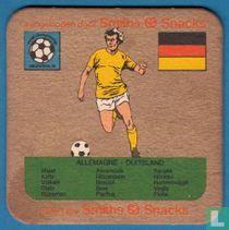 WK voetbal Argentina 1978: Duitsland