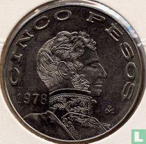 Mexico 5 pesos 1978