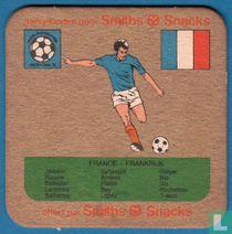 WK voetbal Argentina 1978: Frankrijk