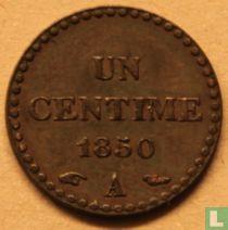 France 1 centime 1850