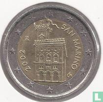 San Marino 2 euro 2002
