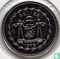 """Belize 10 cents 1978 """"Long-tailed hermit"""""""