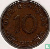 Bolivia 10 centavos 1972