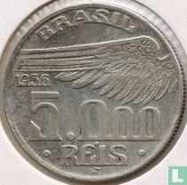 Brasilien 5000 Réis 1936