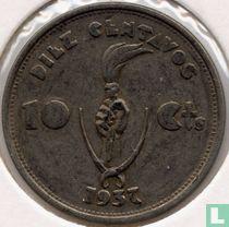 Bolivia 10 centavos 1937