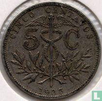Bolivia 5 centavos 1935