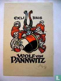 Exlibris Wolf von Pannwitz