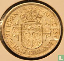 Zuid-Rhodesië ½ crown 1939